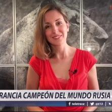 Comentando Rusia 2018 para T13 (Chile) y sus plataformas digitales